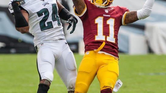 Washington wide receiver DeSean Jackson, shown scoring