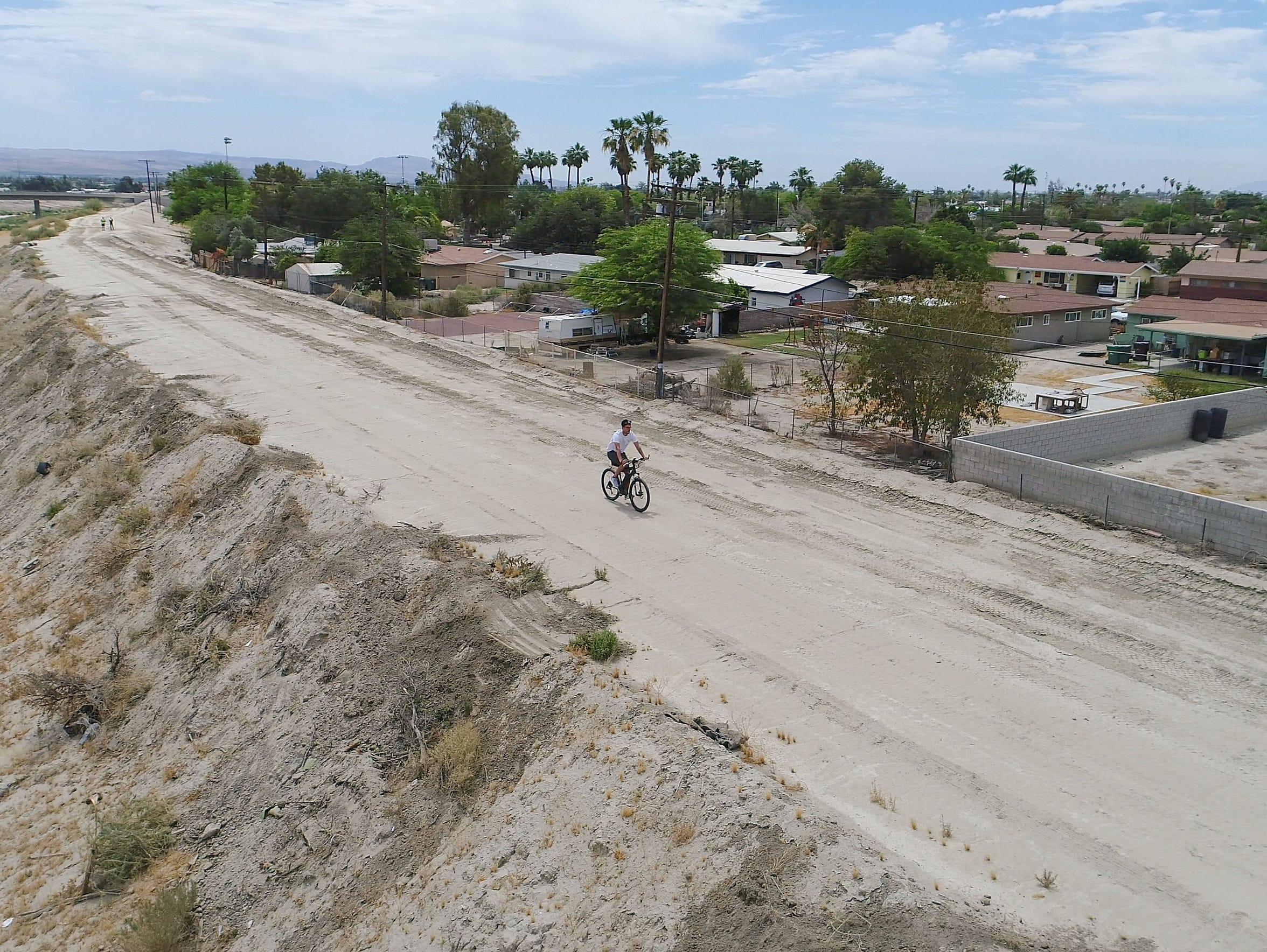 The CV Link will eventually run along an Indio neighborhood