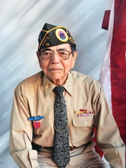 Augustine Chavez was awarded a bronze star for his