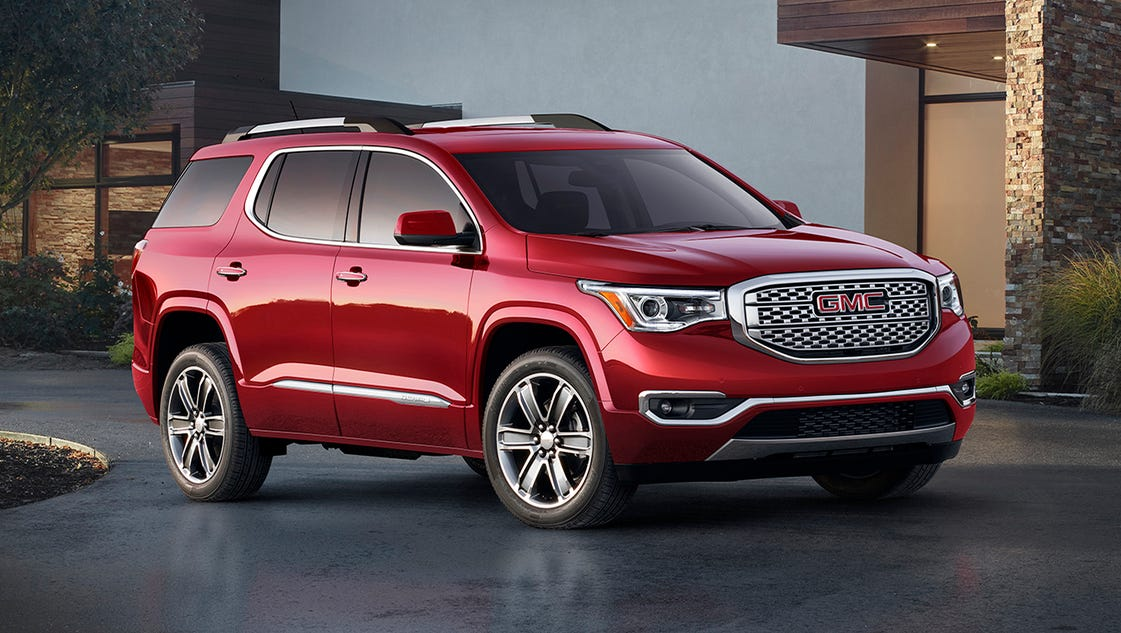 2018 Gmc Acadia Review >> Review: GMC Acadia loses weight, gains little