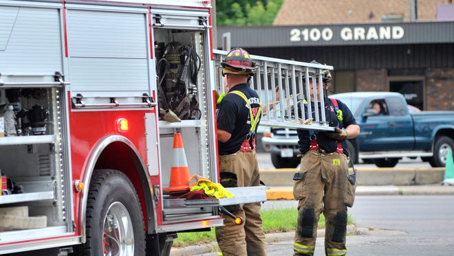 Fire damages Ponderosa Motel Monday afternoon in Wausau. The Wausau Fire Department was called to the scene at 2101 Grand Ave. at about noon after receiving several 911 calls, Battalion Chief Paul Czarapata said.