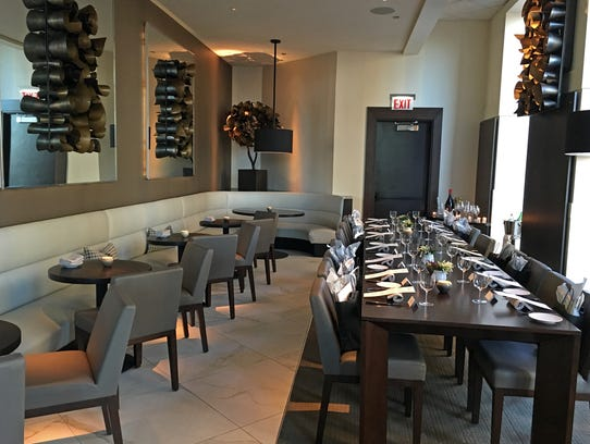 New to Spiaggia is a private dining space for up to