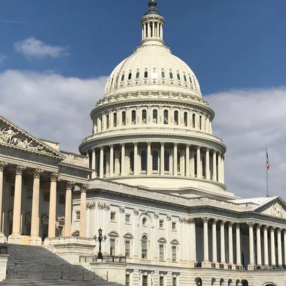 The U.S. Capitol on April 3, 2017