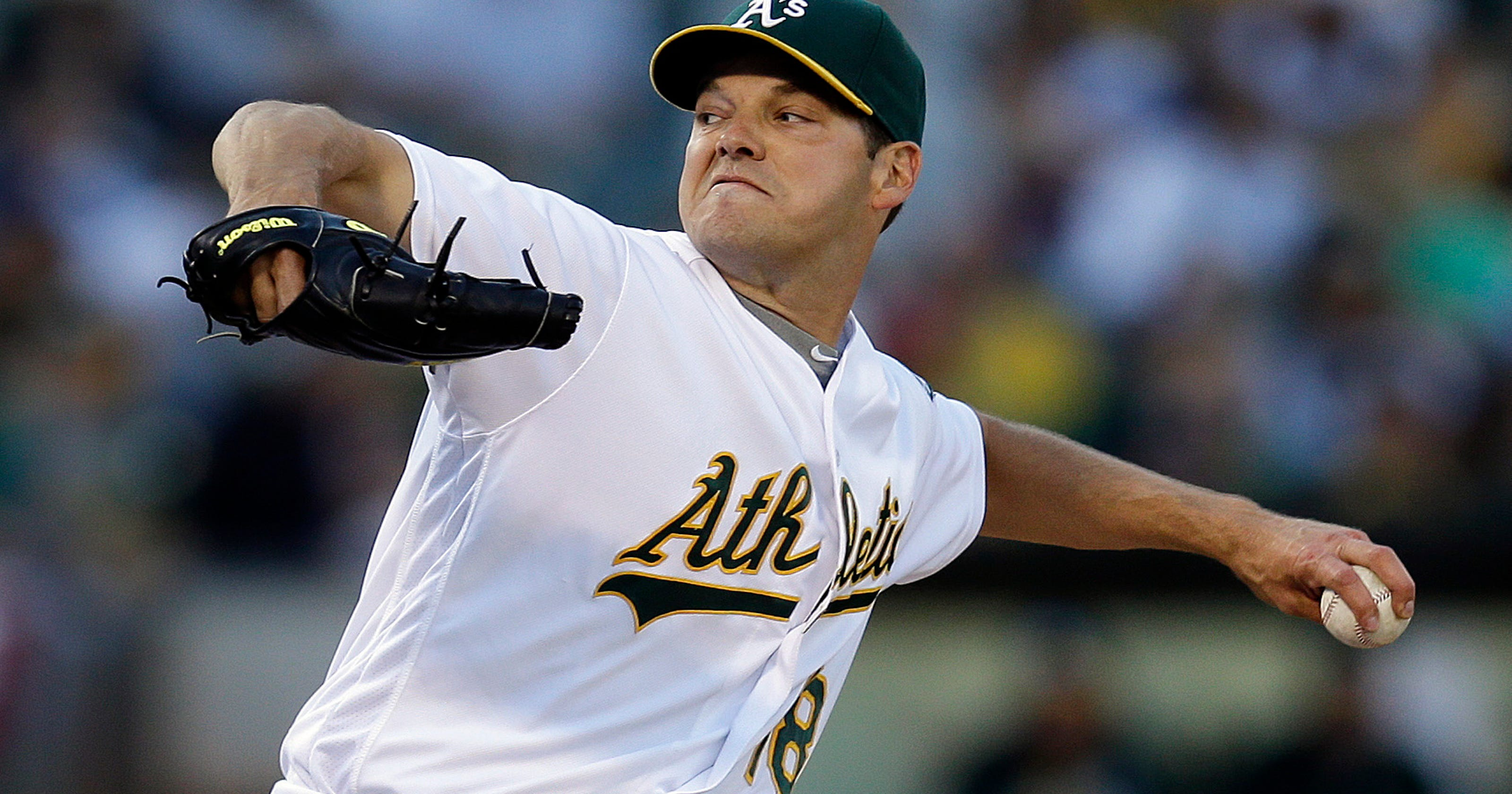 reputable site a0130 26c64 Contending Dodgers get Rich Hill, Josh Reddick from A's