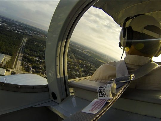Take flight with Tom Kracmer, who is a local pilot