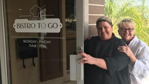 Chef January Nutial, left, opened 4 Sestras Bistro to Go in Cape Coral with her mom.