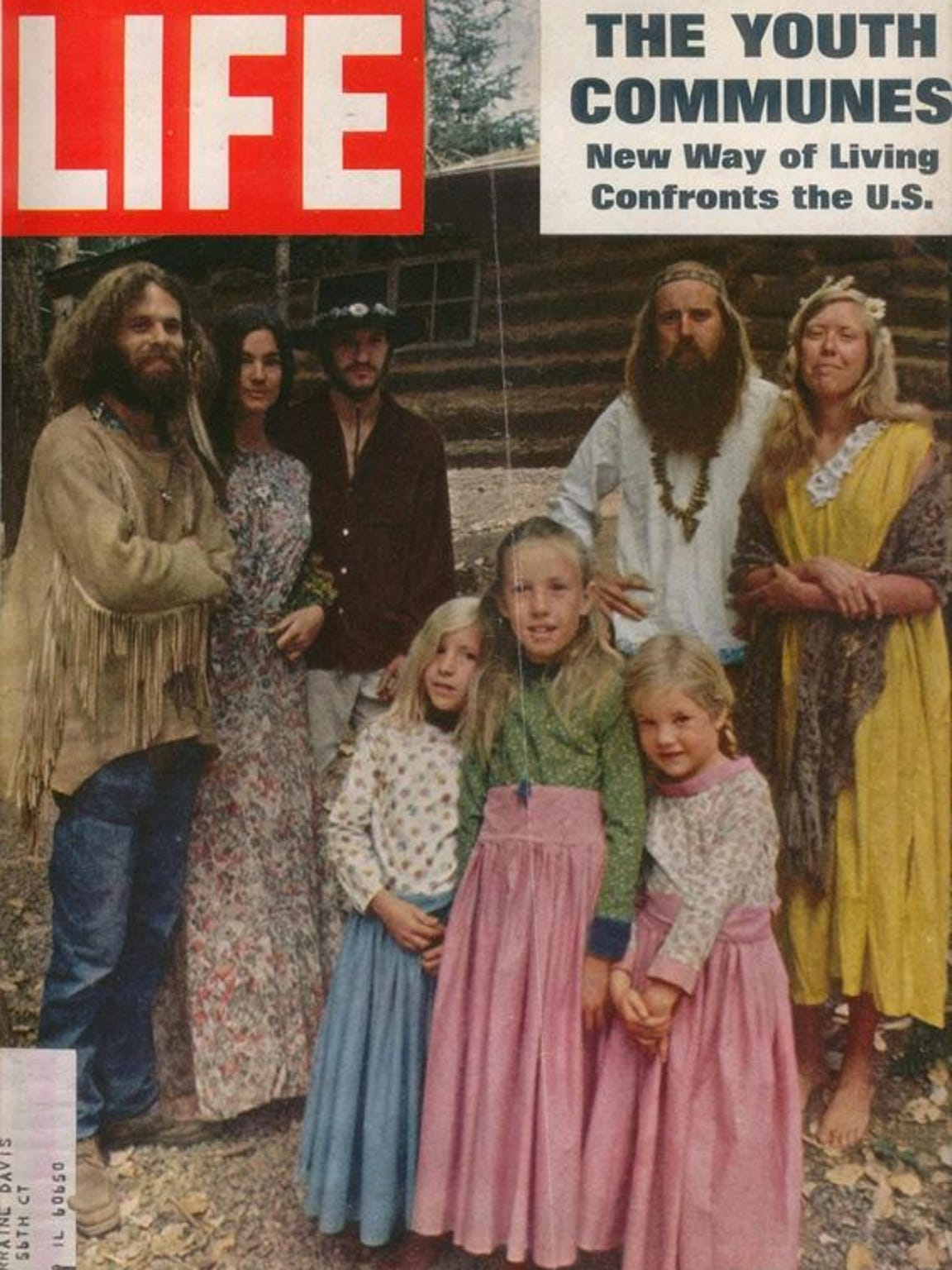 Communes were featured in the July 18, 1969, issue