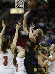 Barneveld's Hannah Whitish was named The Associated Press girls basketball player of the year Thursday.