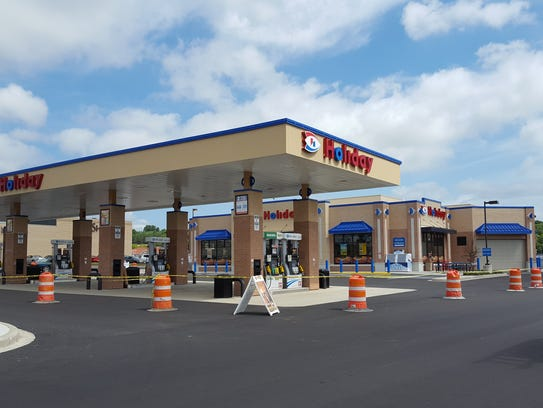 Construction of a new Holiday gas station was nearly