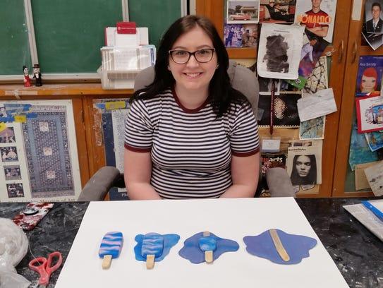 Kelly Zierdt has had her ceramics work selected for