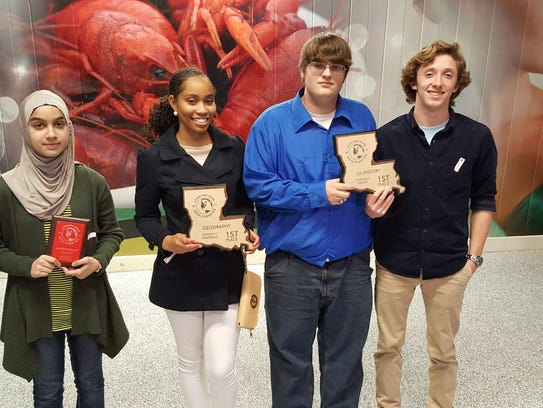 Opelousas High School students competed in the State