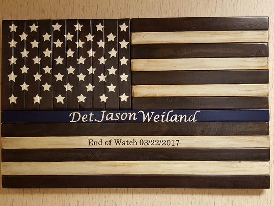 The Everest Metro Police Department received art in