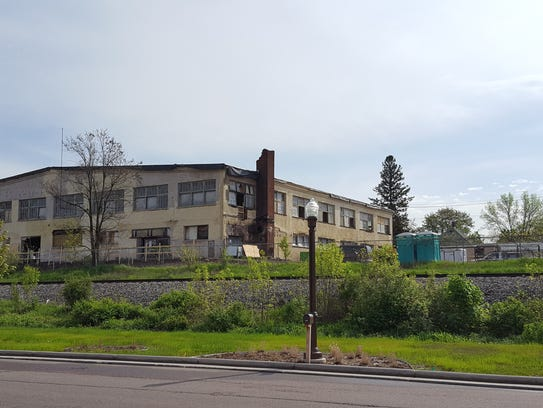 Wausau's former Sav-o Supply building, shown on May