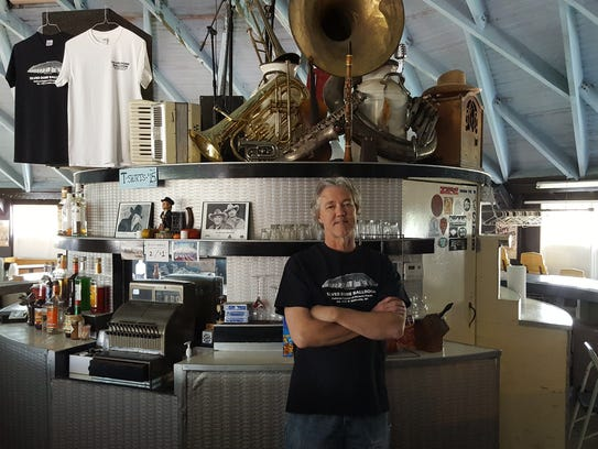 Silver Dome Ballroom owner Doug Myren stands by the