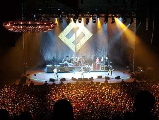 Foo Fighters perform Oct. 12, 2017 at The Anthem in