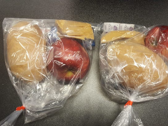 Maricopa County Sheriff's Office inmate meals.