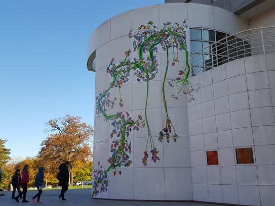 The Des Moines Art Center revealed the collaboration