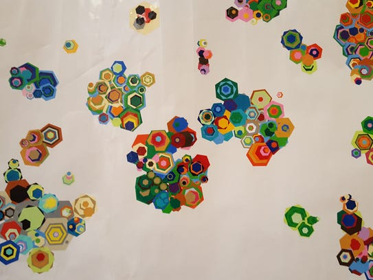 Just a few examples of the millions of hexagon combinations