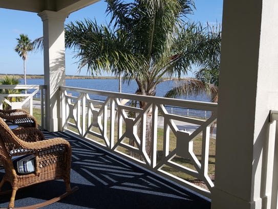 This home has stunning views of Vermilion Bay