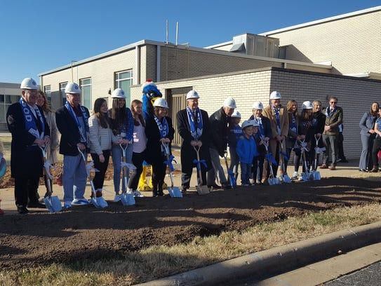 Greenwood Laboratory School broke ground Friday, Dec.