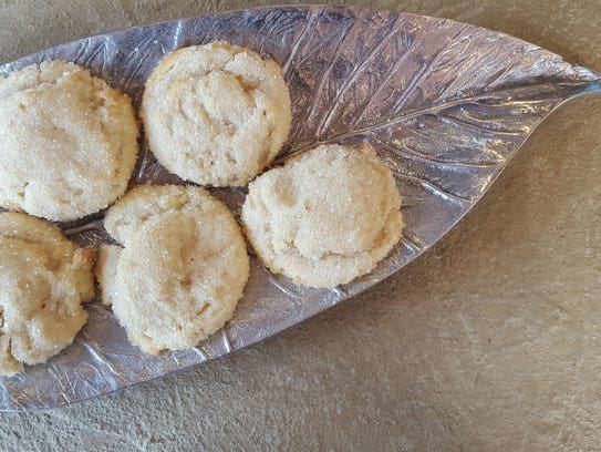 Cream cheese sugar cookies at Slow Hand Coffee, which