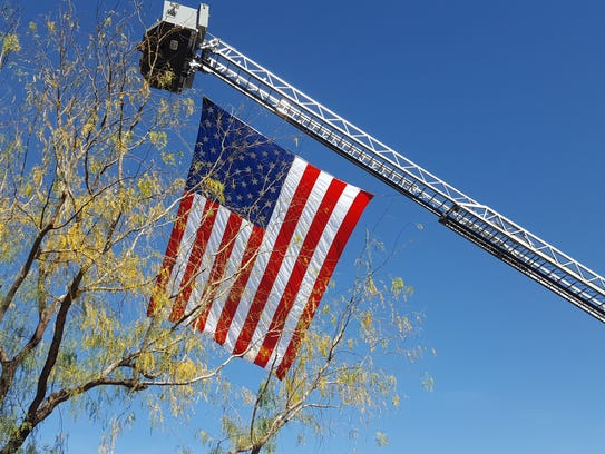 A funeral service for Tempe fire Capt. Kyle Brayer
