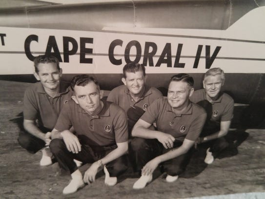 The Spirit of Cape Coral was once used to have a baby