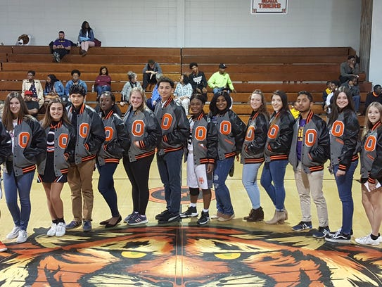 Opelousas High School held its Academic Letterman's