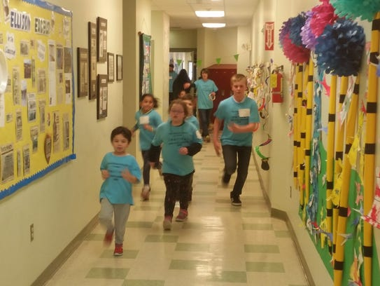 Ellison School students raised funds for their school