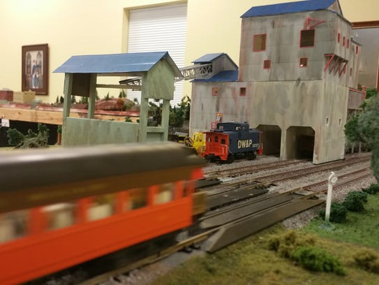 The display will involve train enthusiasts from Stuart