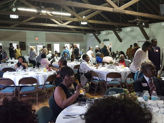 The Pioneer Dinner honoring the Idlette family was