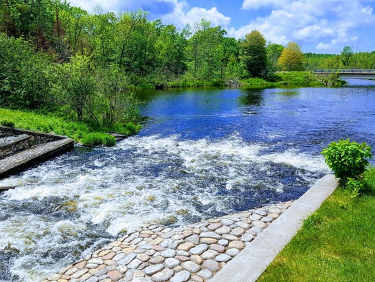 This dam on Lake Namakagon marks the beginning of the