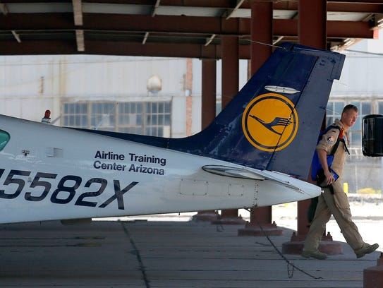 En el 2008, Lubitz pasó tiempo entrenando en el Aeropuerto