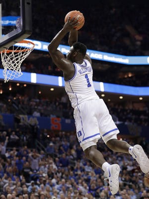 Zion Williamson is the projected No. 1 pick in the NBA Draft after one season at Duke. The NBA is discussing eliminating the one-and-done rule so players such as Williamson will be eligible for the draft at 18 starting in 2022.