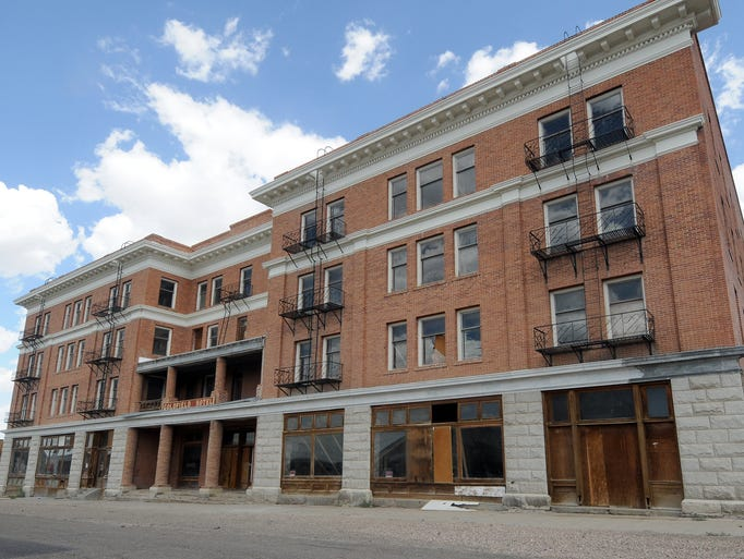 The Goldfield Hotel was one of the historic buildings that survived many of the fires that almost destroyed the historic town.