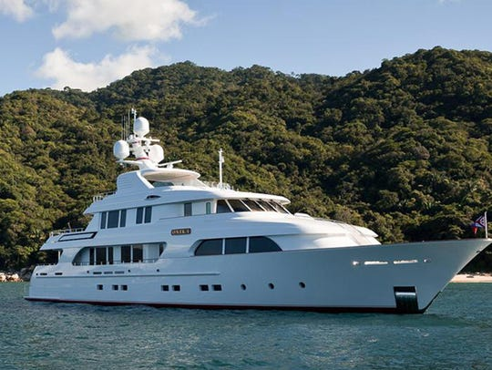 The Onika was the winner of a 2015 World Superyacht