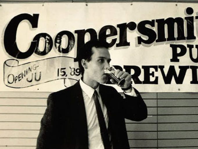 Scott Smith, the founder of CooperSmith's Pub & Brewing is pictured in 1989, the year Fort Collins' first brewpup opened.