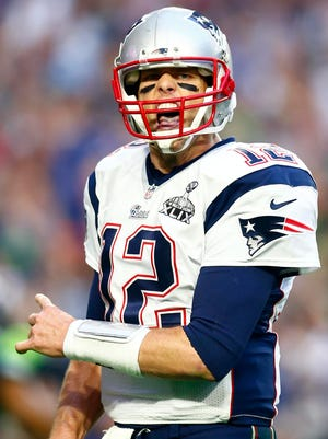 New England's Tom Brady is one of three quarterbacks (Terry Bradshaw, Joe Montana) to win four Super Bowls as a starting quarterback.