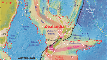 Researchers discover new underwater continent, 'Zealandia'