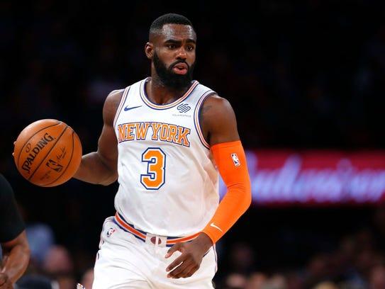 New York Knicks forward Tim Hardaway Jr. (3) during