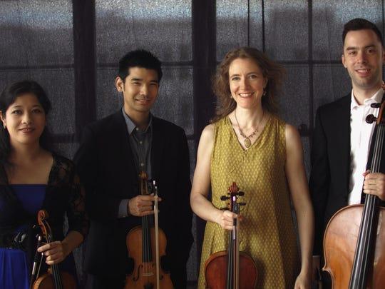 Momenta Quartet will perform three of the composer Julian Carrillo's string quartets on Sunday at Cornell's Barnes Hall.