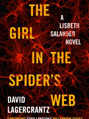 """""""The Girl in the Spider's Web"""" by David Lagercrantz."""