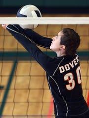 Dover's Lauren Kraemer vs. Villa Walsh during their