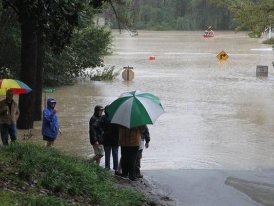 Flooding Columbia