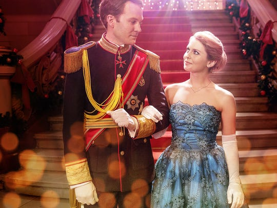 "Ben Lamb and Rose McIver star in ""A Christmas Prince."""