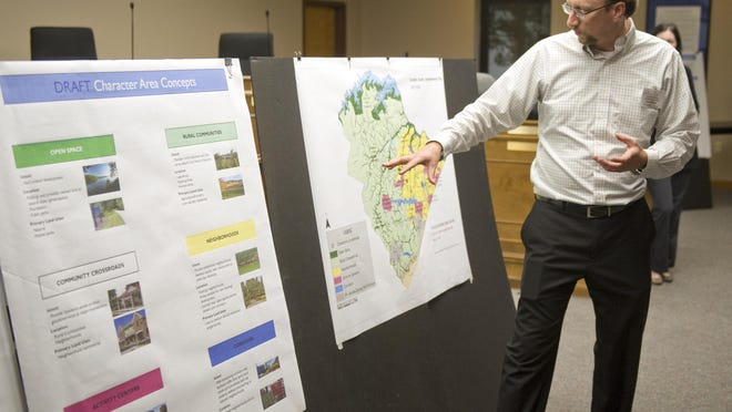Columbia County officials are updating the Vision 2035 growth master plan, seen here in this file image from 2015, through online questionnaires and public forums.