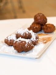 Beignets made by Chef Anthony and Chef Rachel