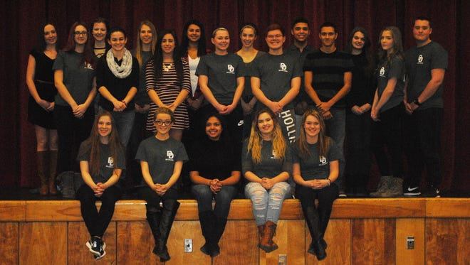 Twenty Delsea Regional High School marketing program students have qualified to represent the school's DECA program from April 22 to 27 at the International Career Development Conference in Nashville, Tenn.