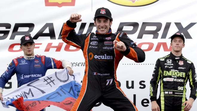 Simon Pagenaud won two Verizon IndyCar Series races in 2013 and two more in 2014 for Schmidt Peterson Hamilton Motorsports
