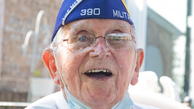 World War II Veteran Richard E. Martin reflects on all he has seen and the many challenges in his 97 years of life. He can't wait to see what the future holds.